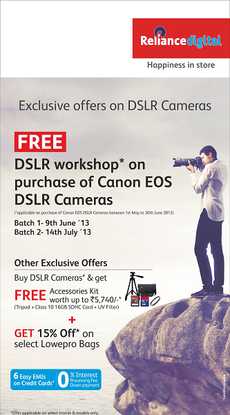 Reliance Digital - Camera Workshop